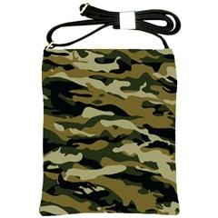 Military Vector Pattern Texture Shoulder Sling Bags