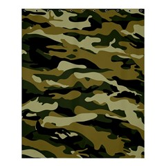 Military Vector Pattern Texture Shower Curtain 60  x 72  (Medium)