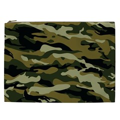 Military Vector Pattern Texture Cosmetic Bag (XXL)