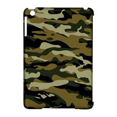 Military Vector Pattern Texture Apple Ipad Mini Hardshell Case (compatible With Smart Cover)