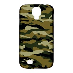 Military Vector Pattern Texture Samsung Galaxy S4 Classic Hardshell Case (pc+silicone)