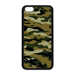Military Vector Pattern Texture Apple iPhone 5C Seamless Case (Black)