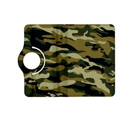 Military Vector Pattern Texture Kindle Fire HD (2013) Flip 360 Case