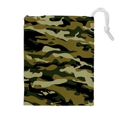 Military Vector Pattern Texture Drawstring Pouches (extra Large)
