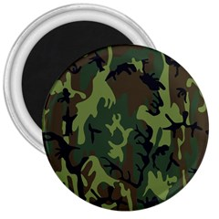 Military Camouflage Pattern 3  Magnets