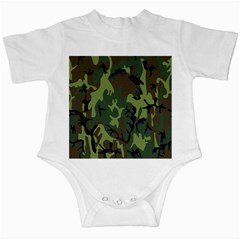 Military Camouflage Pattern Infant Creepers