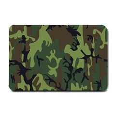 Military Camouflage Pattern Small Doormat