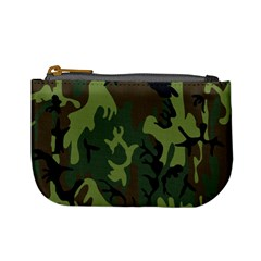Military Camouflage Pattern Mini Coin Purses
