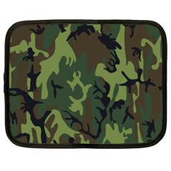 Military Camouflage Pattern Netbook Case (XL)