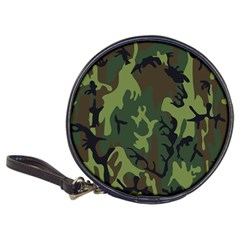 Military Camouflage Pattern Classic 20 Cd Wallets