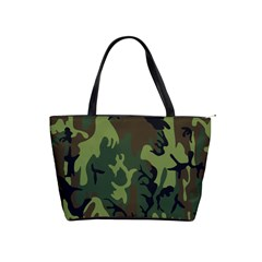 Military Camouflage Pattern Shoulder Handbags