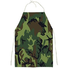 Military Camouflage Pattern Full Print Aprons