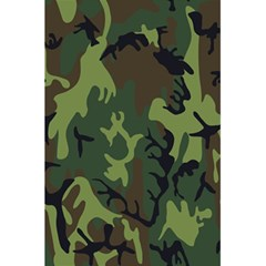 Military Camouflage Pattern 5.5  x 8.5  Notebooks