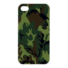Military Camouflage Pattern Apple iPhone 4/4S Hardshell Case