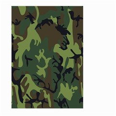 Military Camouflage Pattern Large Garden Flag (two Sides)