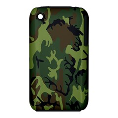 Military Camouflage Pattern iPhone 3S/3GS