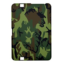 Military Camouflage Pattern Kindle Fire Hd 8 9
