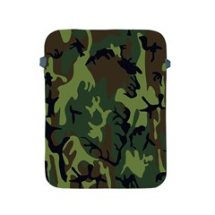 Military Camouflage Pattern Apple iPad 2/3/4 Protective Soft Cases