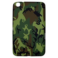 Military Camouflage Pattern Samsung Galaxy Tab 3 (8 ) T3100 Hardshell Case