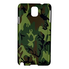 Military Camouflage Pattern Samsung Galaxy Note 3 N9005 Hardshell Case