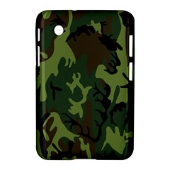 Military Camouflage Pattern Samsung Galaxy Tab 2 (7 ) P3100 Hardshell Case