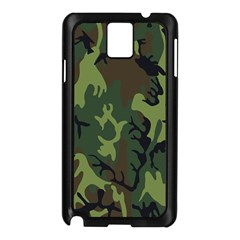 Military Camouflage Pattern Samsung Galaxy Note 3 N9005 Case (black)