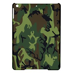 Military Camouflage Pattern iPad Air Hardshell Cases
