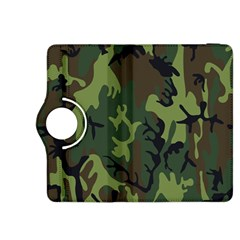 Military Camouflage Pattern Kindle Fire Hdx 8 9  Flip 360 Case