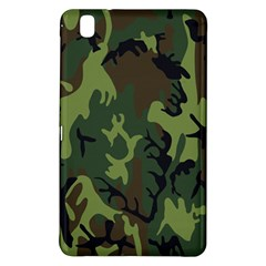 Military Camouflage Pattern Samsung Galaxy Tab Pro 8 4 Hardshell Case