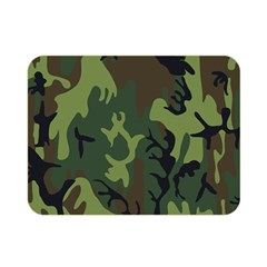Military Camouflage Pattern Double Sided Flano Blanket (mini)