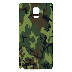 Military Camouflage Pattern Galaxy Note 4 Back Case