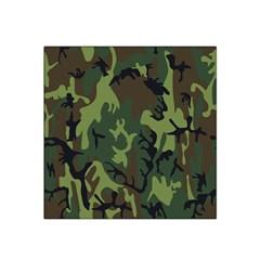 Military Camouflage Pattern Satin Bandana Scarf