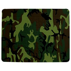 Military Camouflage Pattern Jigsaw Puzzle Photo Stand (rectangular)