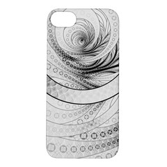 Enso, A Perfect Black And White Zen Fractal Circle Apple Iphone 5s/ Se Hardshell Case