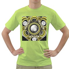 A Cautionary Fractal Cake Baked for GlaDOS Herself Green T-Shirt