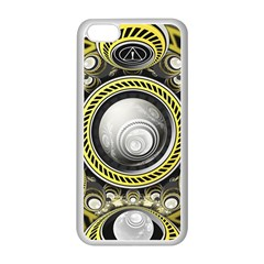 A Cautionary Fractal Cake Baked for GlaDOS Herself Apple iPhone 5C Seamless Case (White)