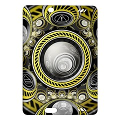 A Cautionary Fractal Cake Baked for GlaDOS Herself Amazon Kindle Fire HD (2013) Hardshell Case