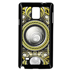 A Cautionary Fractal Cake Baked for GlaDOS Herself Samsung Galaxy Note 4 Case (Black)