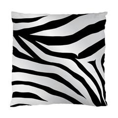 White Tiger Skin Standard Cushion Case (One Side)