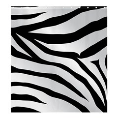 White Tiger Skin Shower Curtain 66  x 72  (Large)