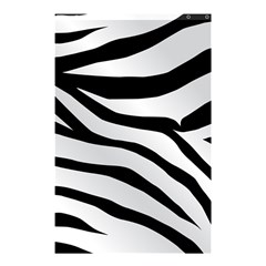White Tiger Skin Shower Curtain 48  x 72  (Small)