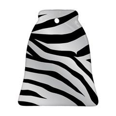 White Tiger Skin Bell Ornament (two Sides)