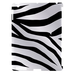 White Tiger Skin Apple Ipad 3/4 Hardshell Case (compatible With Smart Cover)