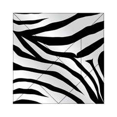 White Tiger Skin Acrylic Tangram Puzzle (6  X 6 )