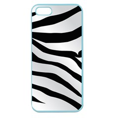 White Tiger Skin Apple Seamless Iphone 5 Case (color)