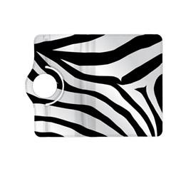 White Tiger Skin Kindle Fire HD (2013) Flip 360 Case