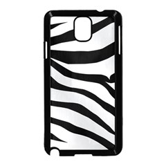 White Tiger Skin Samsung Galaxy Note 3 Neo Hardshell Case (Black)