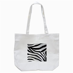 White Tiger Skin Tote Bag (white)