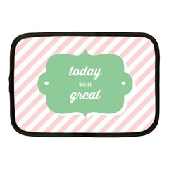 Today Will Be Great Netbook Case (Medium)