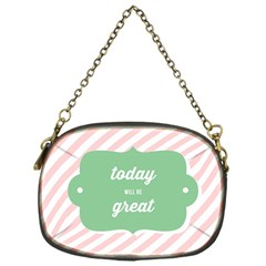 Today Will Be Great Chain Purses (One Side)